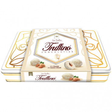 Truffino White Truffle Chocolate With Almond And Coconut - 312 gr