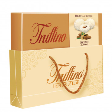 Truffino White Chocolate With Almond And Coconut - Gifted Box