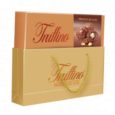 Truffino Milk  Chocolate With Hazelnut Filled Hazelnut Cream - case