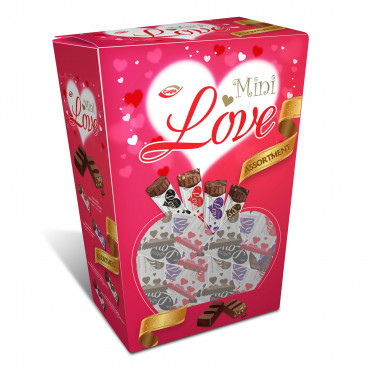Love Milk compound chocolate with puffed rice, Dark Compund Chocolate, Dark Compound Chocolate with Puffed Rice