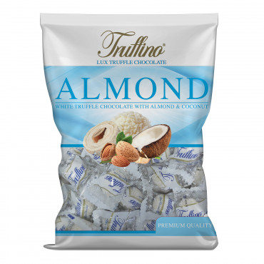 Truffino White Truffle Chocolate With Almond And Coconut - bag