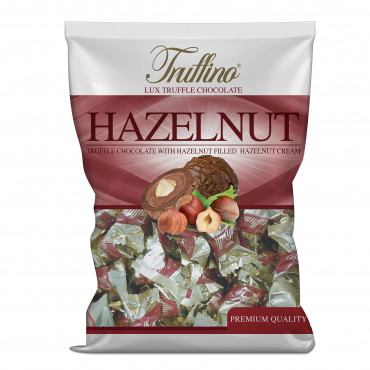Truffino Milk Truffle Chocolate With Hazelnut Filled Hazelnut Cream -bag