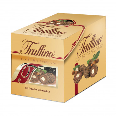 Truffino Milk Truffle Chocolate With Hazelnut Filled Hazelnut Cream - box