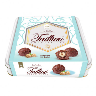 Truffino Milk Truffle Chocolate With Hazelnut Filled Hazelnut Cream - 155 gr