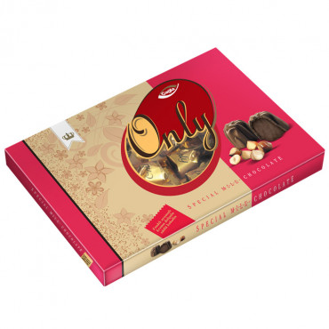 Only Milk Chocolate Filled With Hazelnut Flavour Cream - Box