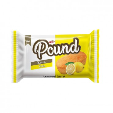 Pound Lemon Flavored Plain Cake