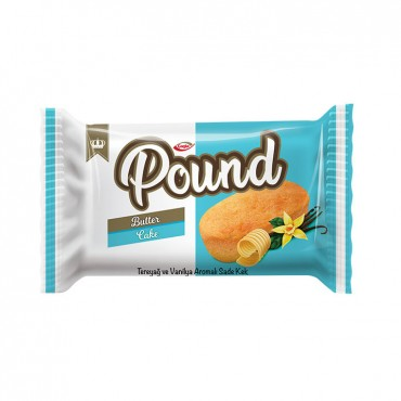Pound Butter and Vanilla Flavored Plain Cake