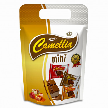 Camellia Mini Mixed (Hazelnut&Caramel&Strawberry) Compound Chocolate
