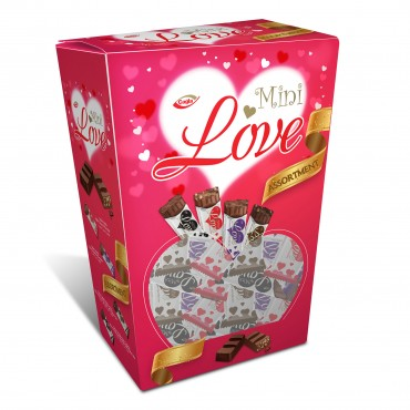 Love Milk compound chocolate with puffed rice, Dark Compound Chocolate, Dark Compound Chocolate with Puffed Rice