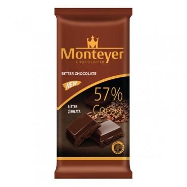 Monteyer Dark Tablet Chocolate %57