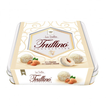 Truffino White Truffle Chocolate With Almond And Coconut - 155 gr