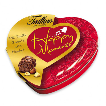 Truffino  Happy Moments Milk Truffle Chocolate With Hazelnut - 13 gr