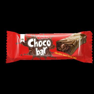 Volume Choco Bar Chocolate Sauce Cocoa Coated Cake